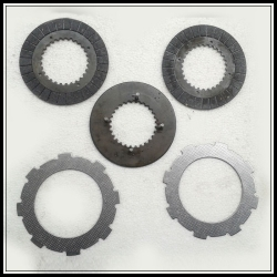 Go kart clutch disc