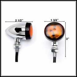 Skull Head Signal Light
