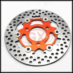 Motorcycle universal 220mm brake disc Yamaha RPM big brake disc Monster Brake disc CNC floating brake disc Seperation brake disc