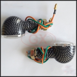 Hall Ball Carbon Shell LED Turn Indicator