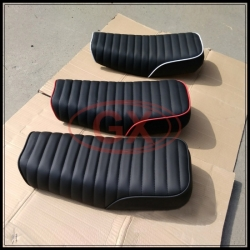 Flat Leather Cafe Racer Seats